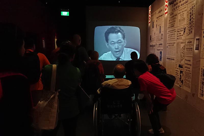 Outing to National Museum of Singapore